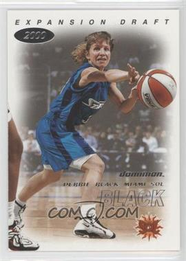 2000 Skybox Dominion WNBA - [Base] #117 - Debbie Black