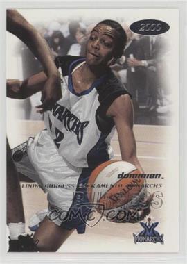 2000 Skybox Dominion WNBA - [Base] #58 - Linda Burgess