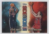 Steve Smith, Kara Wolters
