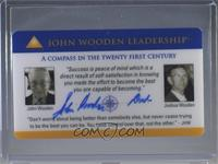 John Wooden [PSA/DNACertifiedCOASticker]