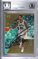 Tim Duncan [BAS Certified BGS Encased]