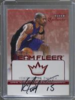 Vince Carter (Unumbered Jersey Autograph) [Noted]