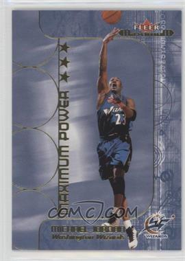2001-02 Fleer Maximum - Maximum Power #2 MX - Michael Jordan
