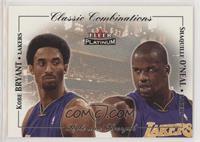 Kobe Bryant, Shaquille O'Neal #/500