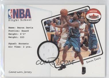 2001-02 Fleer Shoebox Collection - NBA Flight School Jersey #BADA - Baron Davis