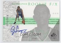 Autographed Rookie F/X - Jeryl Sasser /1525