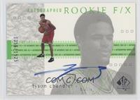 Autographed Rookie F/X - Tyson Chandler #/1,525