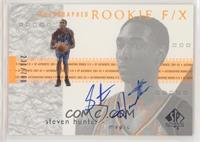 Autographed Rookie F/X - Steven Hunter [Noted] #/700