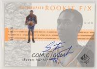 Autographed Rookie F/X - Steven Hunter #/700