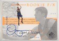 Autographed Rookie F/X - Troy Murphy #/700