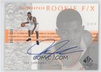 Autographed Rookie F/X - Joe Johnson /700