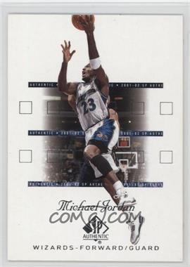 2001-02 SP Authentic - [Base] #90 - Michael Jordan