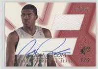 Signed Rookie Jersey - Joe Johnson (Red) #/800