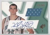 Signed Rookie Jersey - Kirk Haston (Green) /800