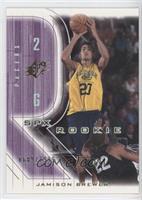 Rookie - Jamison Brewer #/1,999
