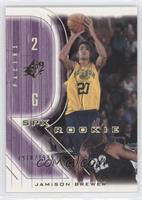 Rookie - Jamison Brewer /1999