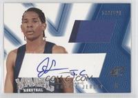 Signed Rookie Jersey - Jeryl Sasser (Blue) /800