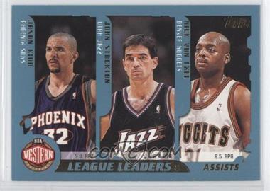 2001-02 Topps - [Base] #217 - Nick Van Exel, Sam Cassell, Andre Miller, Mark Jackson, Jason Kidd, John Stockton