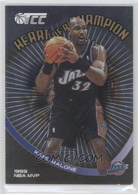 2001-02 Topps Champions and Contenders (TCC) - Heart of a Champion #HC4 - Karl Malone
