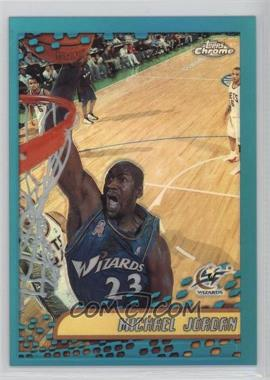 2001-02 Topps Chrome - [Base] - Refractor #95 - Michael Jordan