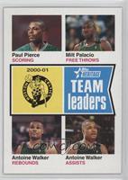 Paul Pierce, Milt Palacio, Antoine Walker
