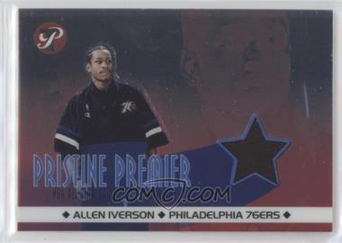 2001-02 Topps Pristine - Pristine Premier #PR-AI - Allen Iverson