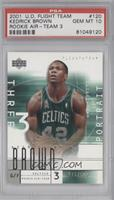 Kedrick Brown (Portrait) /500 [PSA 10 GEM MT]