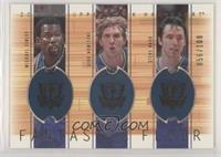 Michael Finley, Dirk Nowitzki, Steve Nash [EXtoNM] #/100