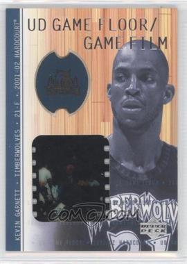 2001-02 Upper Deck Hardcourt - UD Game Floor - /Game Film #KG-F - Kevin Garnett