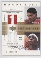 Tyson Chandler, Darius Miles /1000