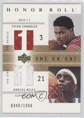 2001-02 Upper Deck Honor Roll - [Base] #122 - Tyson Chandler, Darius Miles /1000