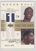 Steven Hunter, Tracy McGrady /1000