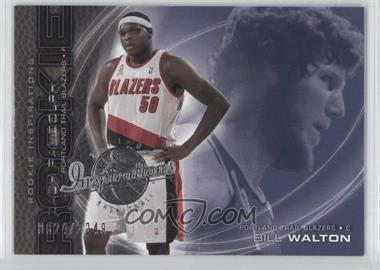 2001-02 Upper Deck Inspirations - [Base] #101 - Zach Randolph, Bill Walton /2249