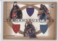 Michael Jordan, Kobe Bryant, Kevin Garnett