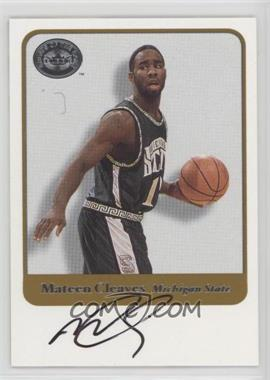 2001 Fleer Greats of the Game - Autographs - [Autographed] #MACL - Mateen Cleaves