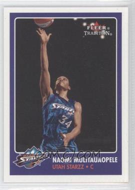 2001 Fleer Tradition - [Base] #128 - Naomi Mulitauaopele