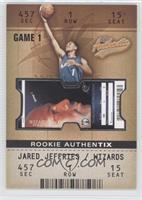 Jared Jeffries #/1,250