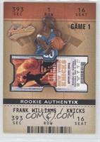 Frank Williams #/1,250
