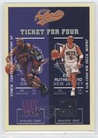 Vince Carter, Jason Kidd, Jamaal Tinsley, Antoine Walker #/200