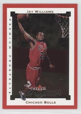 2002-03 Fleer Premium - [Base] - Ruby #SR111 - Jay Williams /100