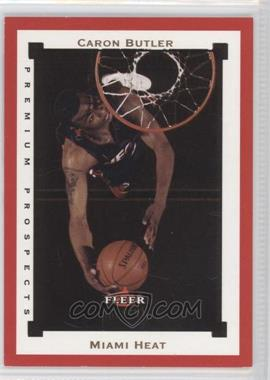 2002-03 Fleer Premium - [Base] - Ruby #SR120 - Caron Butler /100