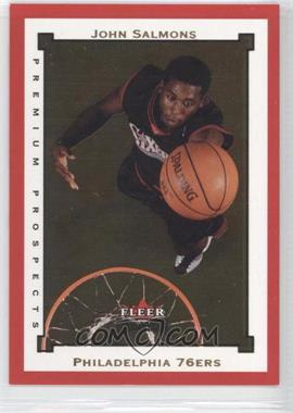 2002-03 Fleer Premium - [Base] - Ruby #SR136 - John Salmons /100