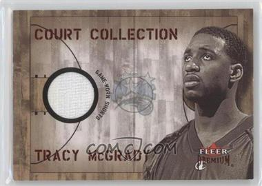 2002-03 Fleer Premium - Court Collection - Ruby #N/A - Tracy McGrady /100