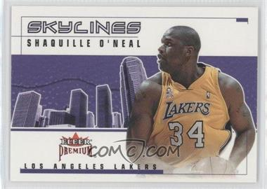 2002-03 Fleer Premium - Skylines - Ruby #2 SL - Shaquille O'Neal /100