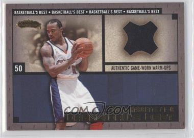 2002-03 Fleer Showcase - Basketball's Best - Gold Memorabilia #COMA - Corey Maggette /100