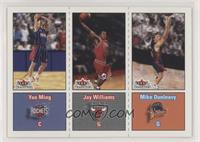 Yao Ming, Mike Dunleavy, Jay Williams [NoneNoted]