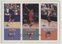 Yao Ming, Mike Dunleavy, Jay Williams