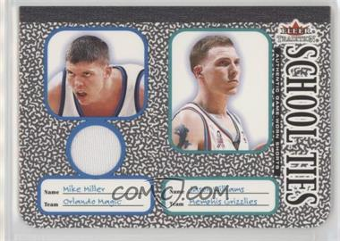 2002-03 Fleer Tradition - School Ties - Memorabilia #3ST.1 - Mike Miller, Jason Williams (Miller Jersey)