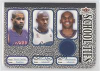 Vince Carter, Michael Jordan, Jerry Stackhouse (Stackhouse Jersey) [Good t…