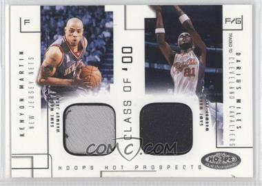 2002-03 Hoops Hot Prospects - Class Of Materials #N/A - Kenyon Martin, Darius Miles /375